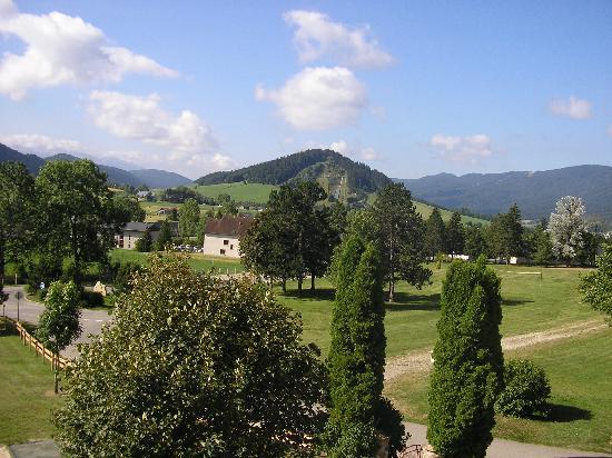 Autrans, Francia: vue de notre chambre