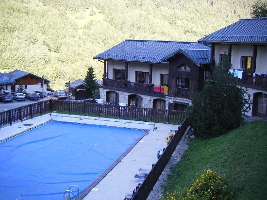 Pralognan-la-Vanoise, ฝรั่งเศส: vue terrasse