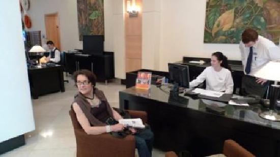 Sheraton Tirana Hotel: réception