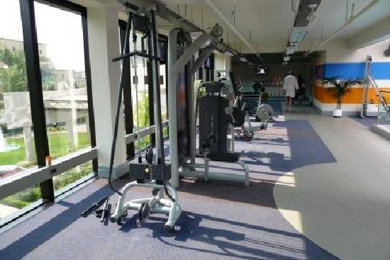 Sheraton Tirana Hotel: salle musculation