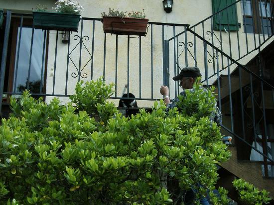 Domaine de Fraisse: Ferienarbeiter Hans