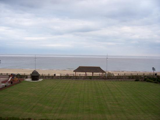 18 Kirkley Cliffe: view from our room