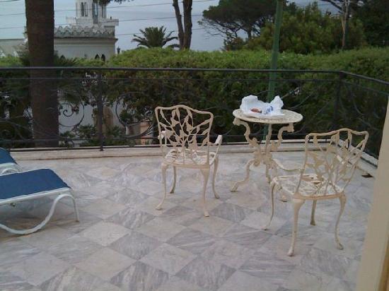 Hotel Excelsior Parco: Terrace