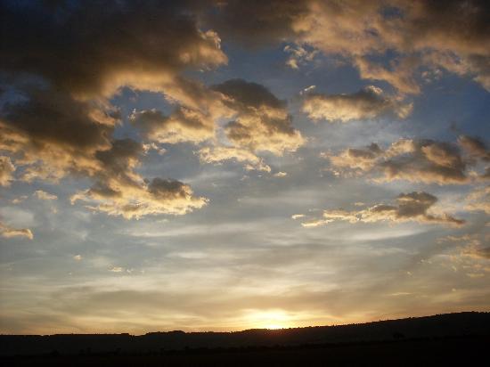 Mara Siria Camp: Sun Set over the Maasai Mara