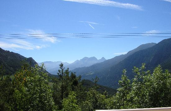 Méolans-Revel, France : vue terrasse