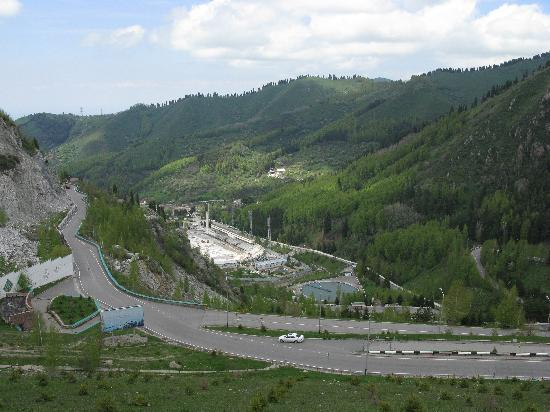 Medeu, close to Almaty