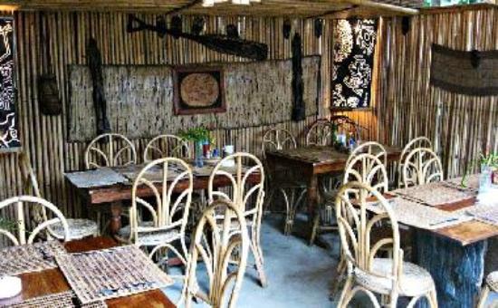 Balay Tubay Bistro Dining Area
