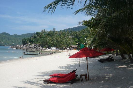 Anantara Rasananda Koh Phangan Villas: Beach