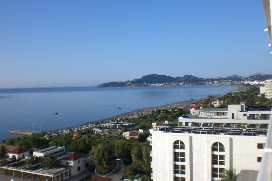 Esperides Beach Family Resort : Vista dalla stanza 611