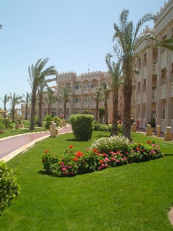 Albatros Palace Resort Hurghada: jardin