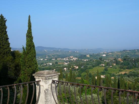 Villa Poggio San Felice : vue de florence de la ch dei nonni