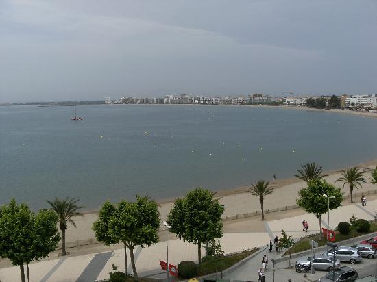 Prestige Hotel Mar Y Sol : View from room terrace across Roses bay