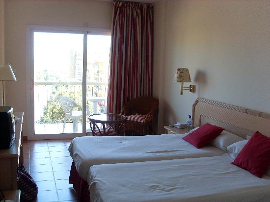 Hotel Luna Club : twin room