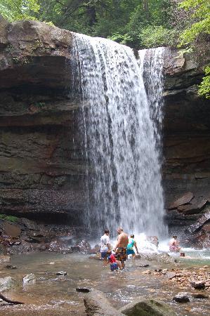 Cucumber Falls  Ohiopyle State Park