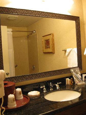 BEST WESTERN PLUS Burlington: Well-appointed bathroom