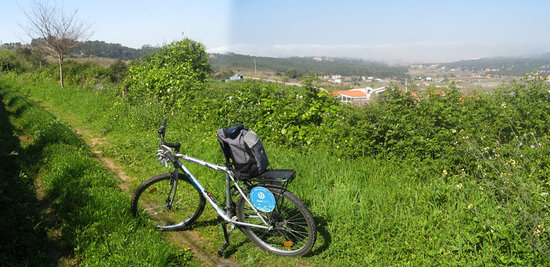 Bikeiberia Bike Tours & Rentals : some kilometers away from Sintra (going west)