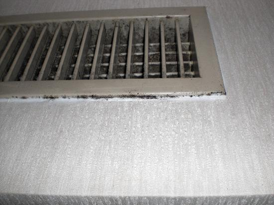 โรงแรมคาราสุม่า เกียวโต: verschimmelte Klimaanlage