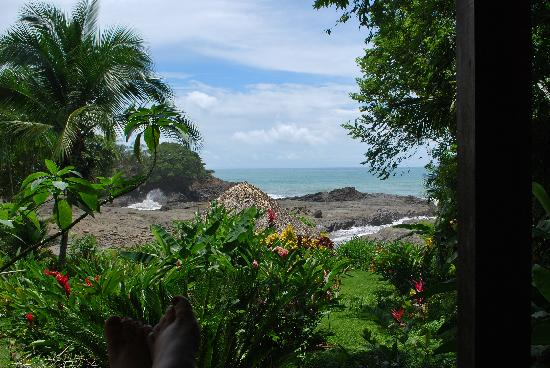 Costa Paraiso: View from the porch.  Imagine this every day!