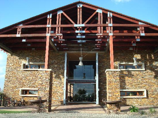 Riboville: hotel entrance