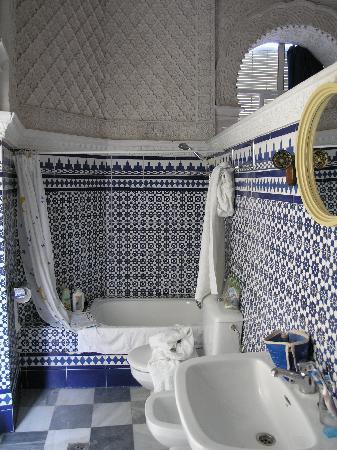 Nuevo Hotel: il bagno