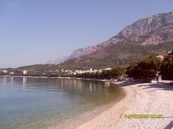 Bluesun Resort Afrodita : THE SUPERB BEACH AT TUCEPI.