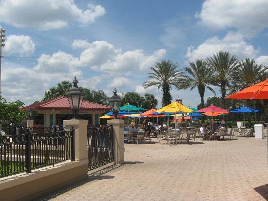 Disneys Caribbean Beach Resort Outside The Main Pool