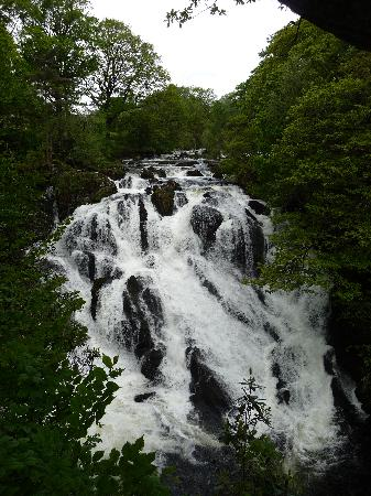 North Wales, UK: Swallow falls, near Betws-y-Coed