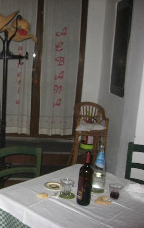 Trattoria Albana: Un angolo del ristorante