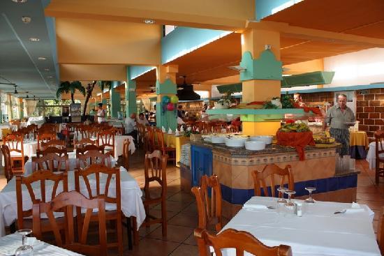 Sun Club Eldorado: Das Restaurant