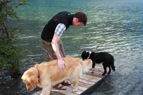 Estancia Peuma Hue : the dogs are just as much part of the experience