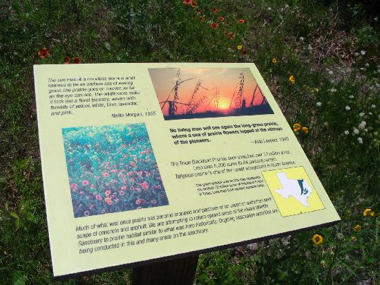 Heard Natural Science Museum & Wildlife Sanctuary : Educational Placards Are Stationed Along the Path