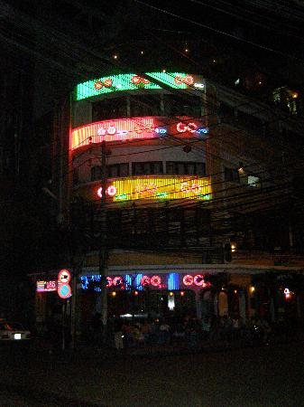 CCentral Hotel Bui Vien: Local night life, less than 60 meters away