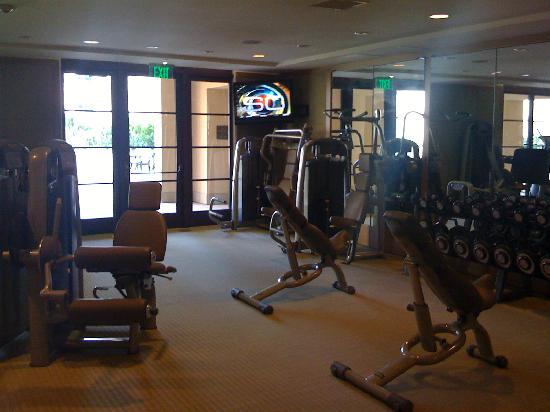Montage Beverly Hills: the gym was outstanding