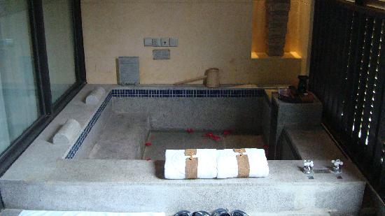BEST WESTERN PREMIER Trithorn Hotspring Resort: 備え付けの温泉。