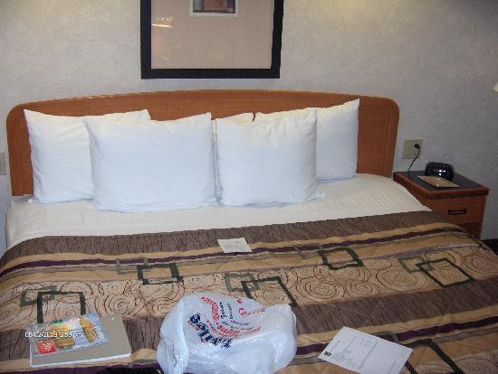 Sleep Inn & Suites Emmitsburg: veeeery comfy bed!