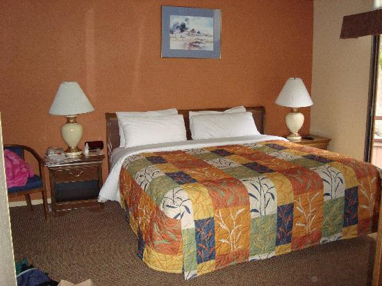BEST WESTERN The Inn & Suites Pacific Grove: Bed