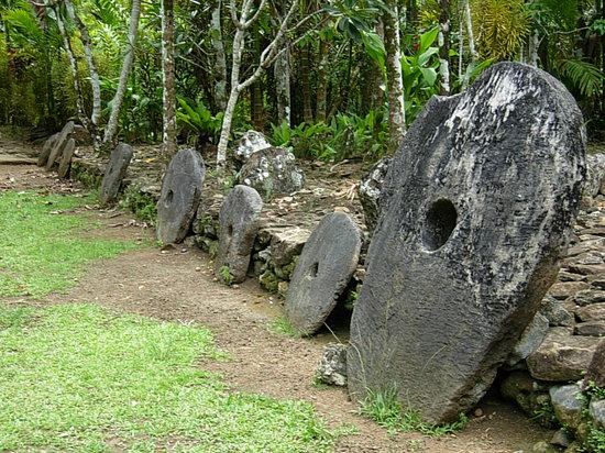 Yap, Micronesia: Stone Money Bank