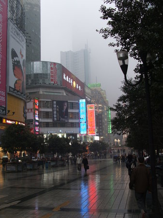 Sanghaj, Kína: Street scene
