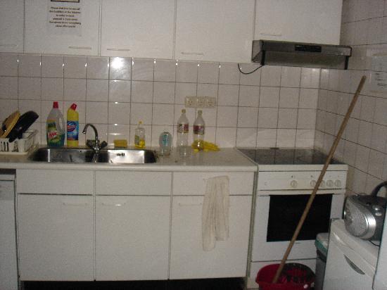 Studio 14: No its not a bedroom David, its a kitchen mate..