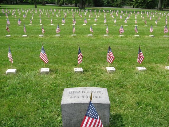 เก็ตตีสบูร์ก, เพนซิลเวเนีย: Gettysburg Ntional Cemetery