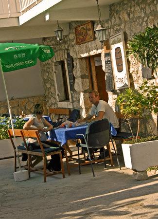 Milna, Croácia: Eingang