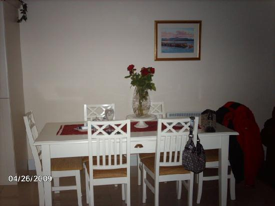 Gannon's B&B: dining area