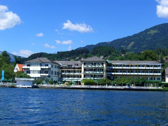 Hotel am See - Die Forelle: Die Forelle from the lake