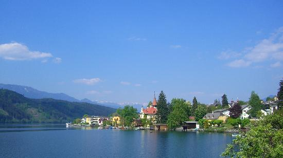 Hotel am See - Die Forelle: Millstatt in Apr.2007