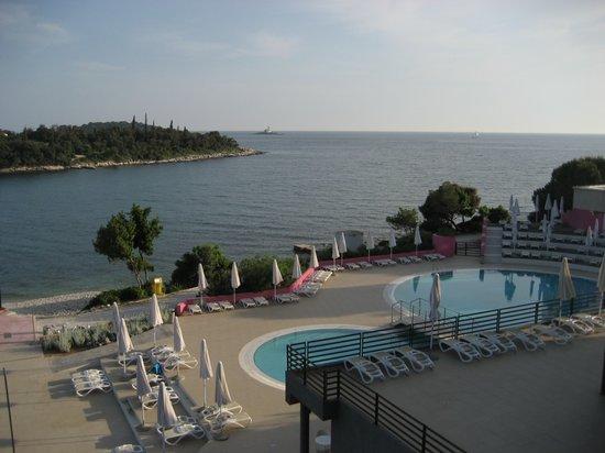 Island Hotel Istra: Blick aus dem Zimmer