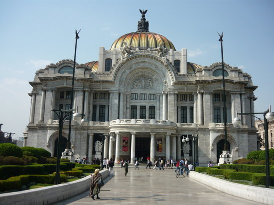 Mexico-Stad, Mexico: museo of bellas artes