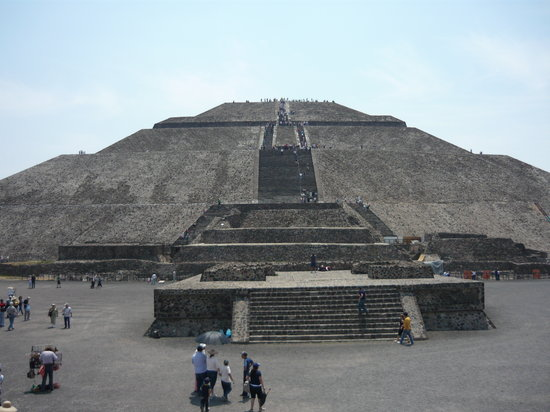 Mexico, Mexique : sun pyramid