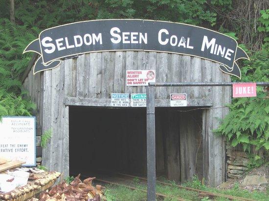Patton, Pensylwania: Entrance to the mine