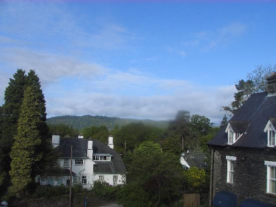 Rayrigg Villa Guest House: View from window of room 5