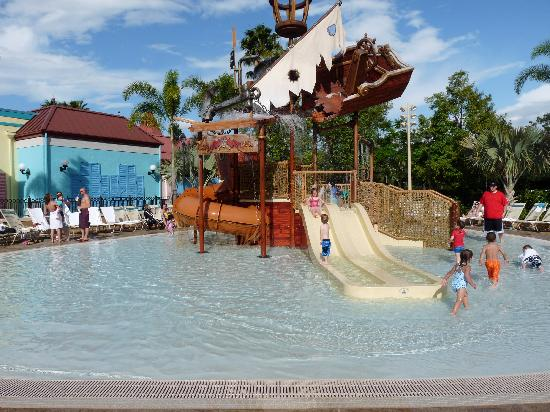 Disney S Caribbean Beach Resort Old Port Royal Kids Pool
